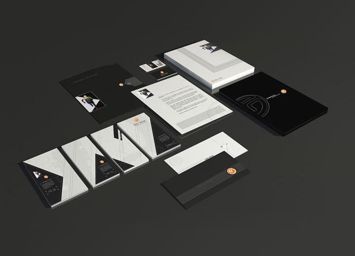 名片等企业VI设计-成都广告设计