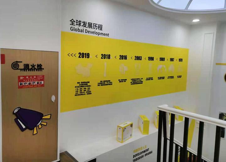 全球发展历程文化墙,亚克力UV-成都文化墙,成都文化墙设计